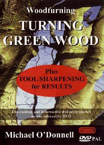 9781903521021: Turning Green Wood/ Tool Sharpening [Reino Unido] [DVD]