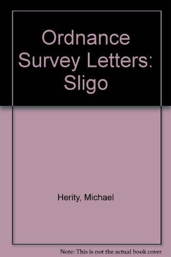 9781903538166: Ordnance Survey Letters: Sligo