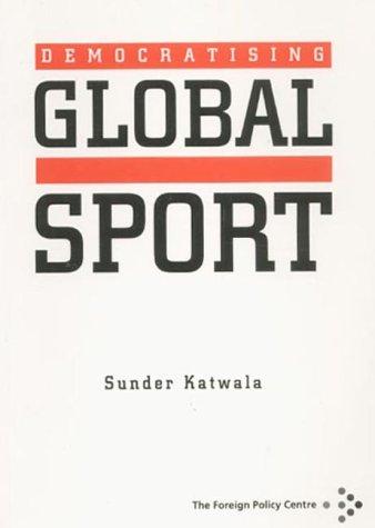 9781903558010: Democratising Global Sport