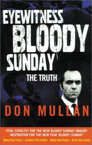 9781903582169: Eyewitness Bloody Sunday