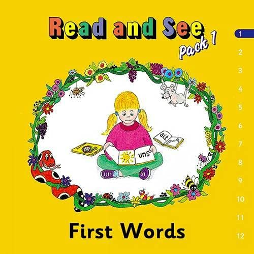 (Pack of 12) Jolly Phonics Read and See: Basic Words Pack 1: Lloyd, Susan M.; Wernham, Sara