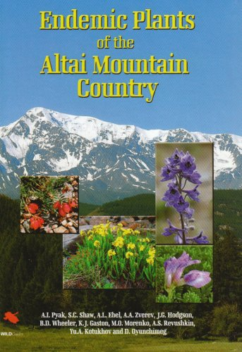 9781903657225: Endemic Plants of the Altai Mountain Country (WILDGuides)