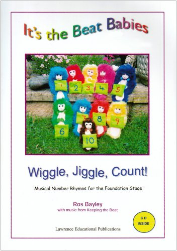 9781903670507: It's the Beat Babies - Wiggle, Jiggle, Count (book and CD): Musical Number Rhymes for the Foundation Stage