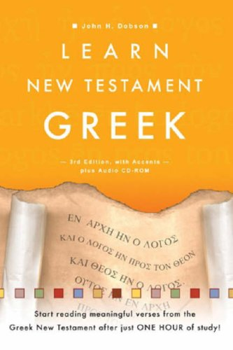 9781903689288: Learn New Testament Greek, with Audio CD-Rom