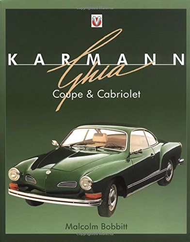 Karmann Ghia Coupe and Cabriolet (Car Motorcycle