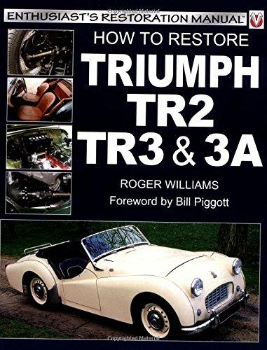 9781903706152: How to Restore Triumph Tr2, Tre & Tr3A