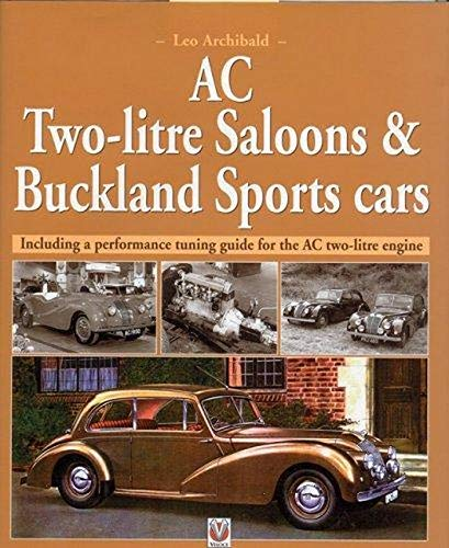 9781903706244: AC Two-litre Saloons and Buckland Sportscars