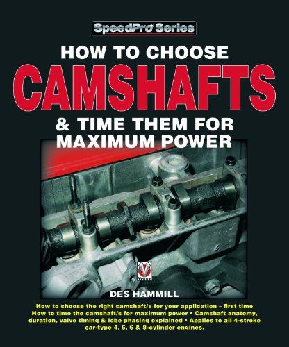 9781903706596: How to Choose Camshafts and Time Them for Maximum Power