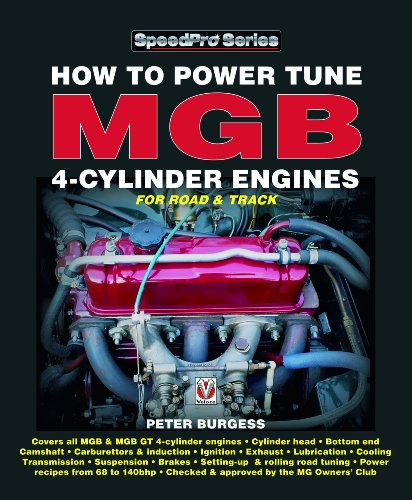 9781903706770: How to Power Tune MGB 4-Cylinder Engines (SpeedPro Series)