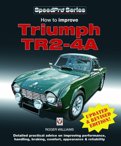 9781903706800: How to Improve Triumph TR2-4A