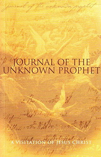 9781903725450: Journal of the Unknown Prophet: Legacy to a Renegade Generation