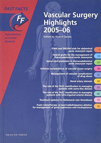 Vascular Surgery Highlights 2005-06: Davies, Alun H. (Editor)