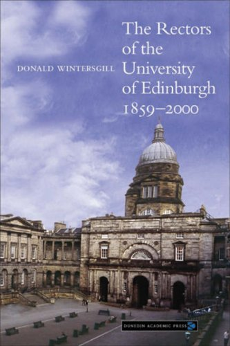 Rectors of the University of Edinburgh 1859-2000: Donald Wintersgill