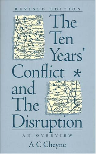 9781903765487: The Ten Year's Conflict and the Disruption: An Overview (Revised Edition)