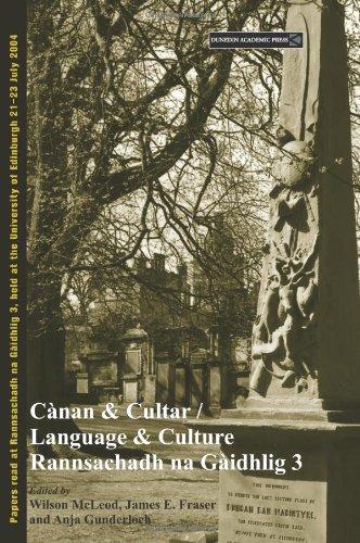 9781903765609: Canan and Cultur / Language and Culture: Rannsachadh Na Gaidhlig 3 (Scottish Gaelic Studies)