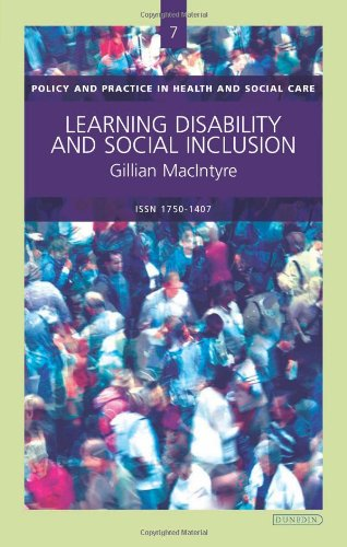 9781903765838: Learning Disability and Social Inclusion: (Policy & Practice in Health and Social Care No. 7)