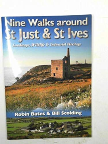 9781903798249: NINE WALKS AROUND ST JUST & ST IVES