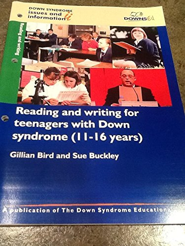 9781903806128: Reading and Writing for Teenagers with Down Syndrome (11-16 Years) (Down Syndrome Issues & Information) (Pt. 1)