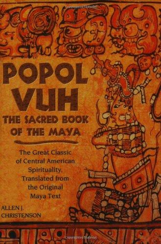 9781903816530: Popol Vuh: The Sacred Book of the Maya