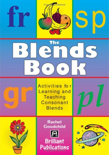 9781903853535: The Blends Book: Activities for Learning and Teaching Consonant Blends