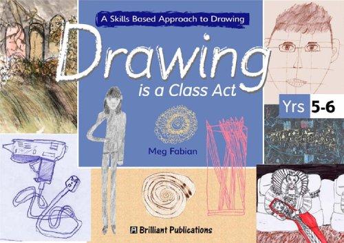 Drawing is a Class Act: Fabian, Meg