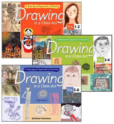 9781903853702: Drawing is a Class Act Series Pack: A Skills-based Approach to Drawing