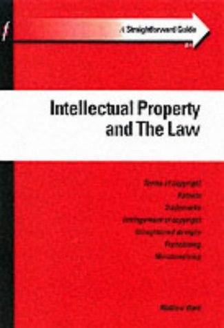 9781903909232: Intellectual Property and the Law (Straightforward Guides)