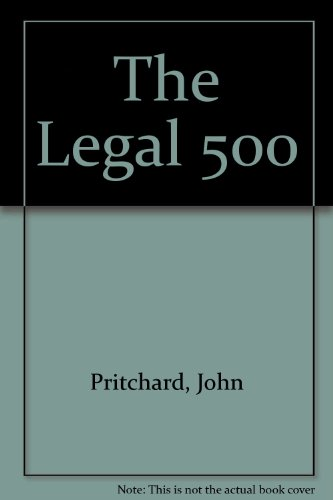 9781903927038: The Legal 500