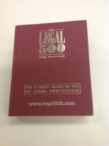9781903927564: THE LEGAL 500