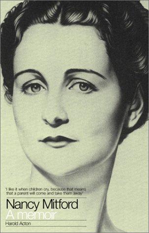 Nancy Mitford: A Memoir (9781903933060) by Acton, Harold