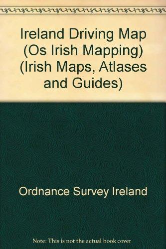 Ireland Driving Map (Os Irish Mapping) (Irish: Ordnance Survey Ireland