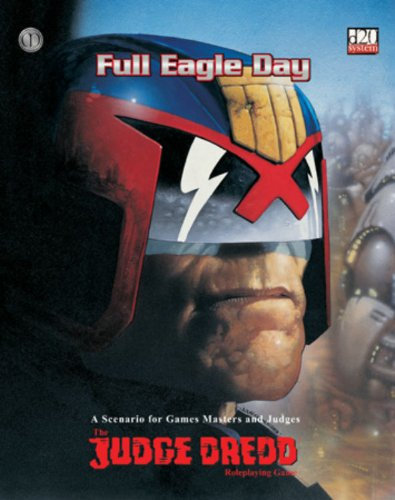 9781903980392: Full Eagle Day: The Judge Dredd Roleplaying Game