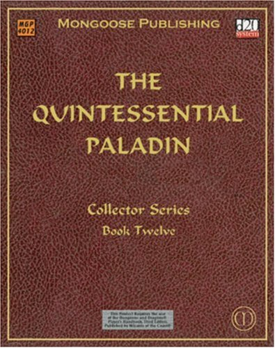 9781903980798: The Quintessential Paladin