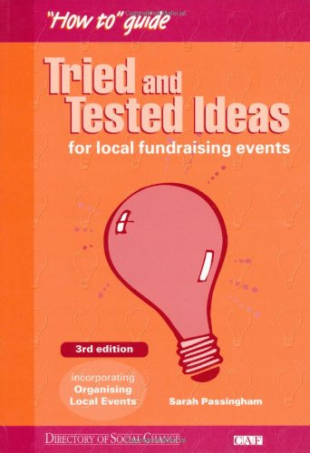9781903991374: Tried and Tested Ideas: For Local Fundraising Events (DSC/CAF