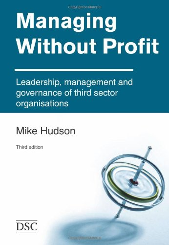 9781903991992: Managing without Profit: Leadership, Management and Governance of Third Sector Organisations