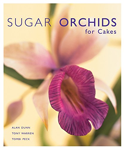 Sugar Orchids for Cakes (Sugar