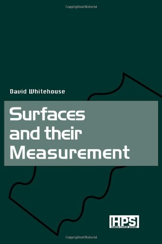 9781903996010: Surfaces and their Measurement