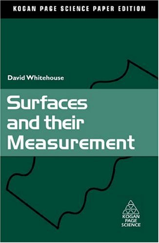 9781903996607: Surfaces and their Measurement (Kogan Page Science Paper Edition)