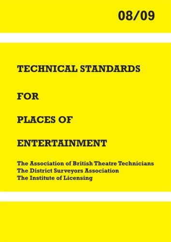 9781904031536: Technical Standards for Places of Entertainment