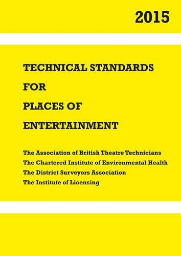 9781904031833: Technical Standards for Places of Entertainment