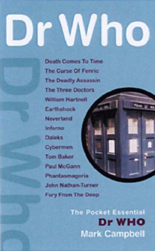 9781904048534: Pocket Essentials - Dr Who