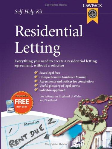 9781904053965: Residential Letting Kit