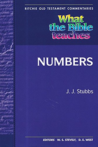 9781904064190: WTBT Vol 3 OT Numbers (Ritchie Old Testament Commentaries)