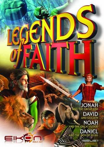 Comic Bk-Legends Of Faith (Issue 1): Eikon Bible Art