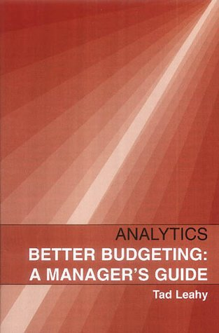 9781904081012: Better Budgeting: A Manager's Guide