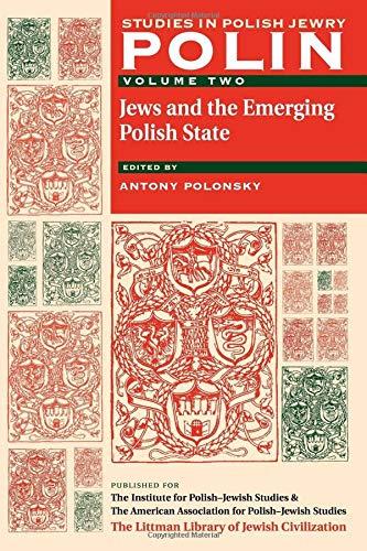 Polin: Studies in Polish Jewry Volume 2: