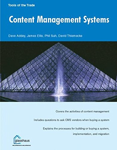 9781904151067: Content Management Systems (Tools of the Trade)