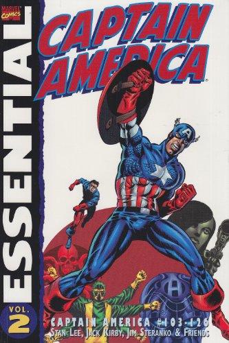9781904159490: Essential Captain America: Captain America #103-126 (v. 2)