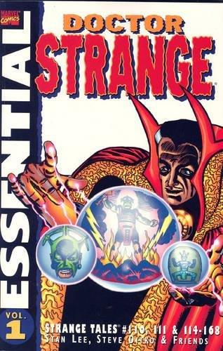 Essential Dr Strange Vol.1: Strange Tales #110,111,114-168 (1904159516) by Stan Lee; Steve Ditko