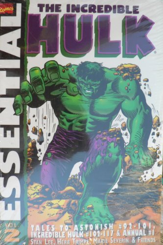 9781904159537: Essential Incredible Hulk Vol.2: Tales to Astonish #92-101, Incredible Hulk #102-117 & Annual # 1 (v. 2)